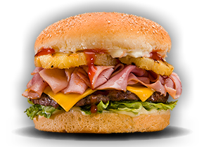 Photograph of Hawaiian Burger